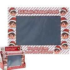 Noël coquin ELFE accessoire magique Tableau à messages 26.7cm aiguille lutins