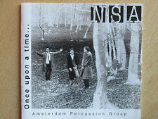 NSA - Amsterdam Percussion Group - Once Upon a Time (1995)  CD  SPEEDYPOST