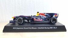 1/64 Kyosho F1 Suzuka Legends 2010 RED BULL RB6 #5 Vettel diecast car model MINT