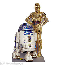 New Life-size cardboard cutout of R2-D2 & C-3PO #530 - 4106
