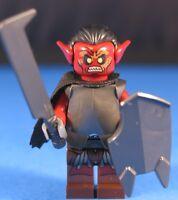 LEGO® LORD OF THE RINGS™ URUK HAI Deluxe Custom Minifigure POINTED EARS 100%LEGO
