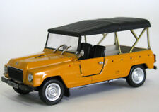 wonderful modelcar RENAULT 4 RODEO COURSIERE 1971 - orange - 1/43