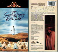 The Greatest Story Ever Told - Max Von Sydow - 2-VHS Tapes - Full Screen