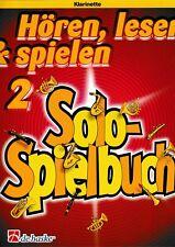 Oldenkamp/Kastelein: Solospielbuch Bd.2. Klarinette.