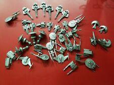 Galoob Micro Machines Star Trek Pewter Silver Bronze Color Starships