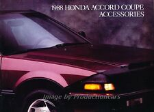 1988 Honda Accord Coupe Original Car Accessories Brochure Catalog