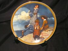 "Norman Rockwell's ""Rediscovered Women Collection"" Waiting on the Shore"