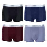 4er Pack Herren Boxer Briefs NahtloseTrunks Boxershorts Soft Shorts Unterhose