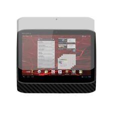 Skinomi Carbon Fiber Black Skin+Screen Protector for Motorola DROID XYBOARD 10.1