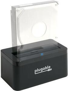 Plugable USB 3.1 Gen 2 10Gbps SATA Upright Hard Drive Dock & SSD Dock