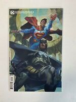 Batman Superman #6 Bianchi Card Stock Variant DC 2020
