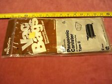 """(0942.) Vacuum Cleaner Bags For Panasonic Canister Type """"C"""""""