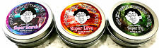 """Crazy Aaron's Thinking Putty Mini Tin Set 3 PACK 2"""" tins Super Scarab Fly Lava"""