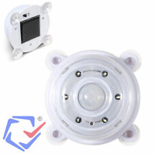 lampe lumiere LED détecteur de mouvement solaire sur la vitre batterie 500 mAh