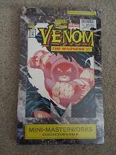 Marvel Mini-Masterworks Collectors Pack Venom The Madness 1-3 Sealed 1993
