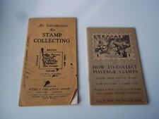 An Introduction to Stamp Collecting (1933) & How to Collect Postage Stamps-1951