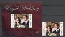 Kate, William, Royal Wedding - Niue - ** MNH 2011