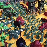 300pcs/set Soldier Kit Action Figures Military Army Men Sand Scene Model ÖÖ