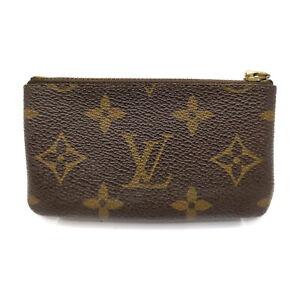 Louis Vuitton LV Coin Purse Pochette Cles M62650 Browns Monogram 411421