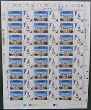 Feuille J.0 Paris 2024 surchargé 13/09/17