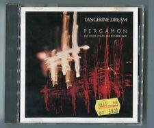 Tangerine Dream CD Pergamon Live Palais de la République 1986 VIRGIN 257 684-225