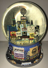Vintage 1999 Bloomingdales Broadway New York Times Square 1st Year Snow Globe