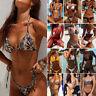 Women Bikini Set Bandage Push-Up Padded Bra Swimwear Swimsuit Bathing Brazilian