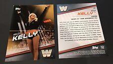 Kelly Kelly - 2016 WWE Topps Gold Divas Revolution Jumbo 5x7 04/10 Produced