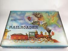 "Vintage Waddington's ""RAILROADER"" Wild West Railway Construction Game Boxed 1963"