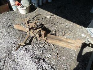 3 point hitch mounted hydraulic wood/log splitter