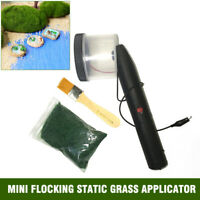 ABS Mini Flocking Static Grass Applicator SCENIC MODELLING 5mm 245g Static Grass