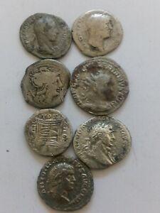 064.Lot of 7 Ancient Roman Silver Denarius