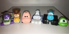 Disney Pixar Movie Moments Cars Lot of 6 Toy Story Monsters Inc Yeti Diecast