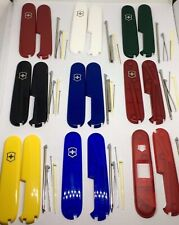 Victorinox Swiss Army Knife 91mm Scales/Handles Plus + 4 Accessories with pen