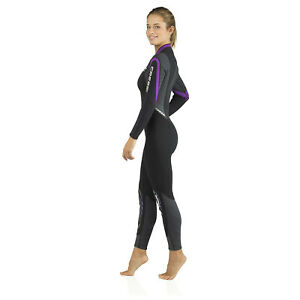 Cressi 3mm Bahia Lady Front-Zip Full Wetsuit