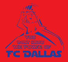 Darth Vader FC Dallas shirt Star Wars MLS Soccer Football DTID FCD 96 Barrios