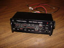 Vintage Realistic - Stereo frequency Equalizer - car audio - Model 12-1867