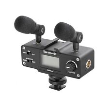 Saramonic SRCAMIXER Mini Audio Adapter for DSLR Camera or Camcorder