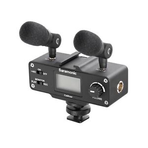 Saramonic SRCAMIXER Mini Audio Adapter for DSLR Camera or Camcorder - SRCAMIXER