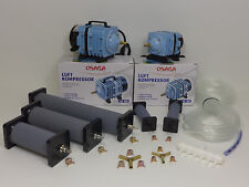 Osaga LK35 / LK60 Luftkompressor Teichbelüfter Sauerstoffpumpe Belüfter/ Zubehör