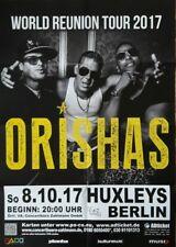 Orishas Konzert Plakat Poster Berlin