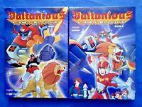 Daltanious - Il Robot Del Futuro - Box 1 + 2 - Cofanetti Singoli 12 Dvd- Nuovi