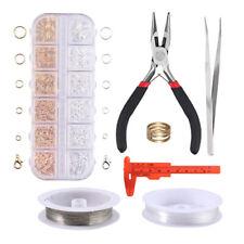 000005D3 .Us Jewellery Making Repairing Kit Beading Wire Starter Caliper Crafts Tool