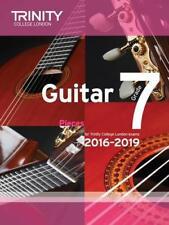 Guitar Exam Pieces Grade 7 2016-2019 by Trinity College London   Paperback Book