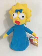 """The Simpsons Maggie Simpson Baby Girl Stuffed Plush Animal Toy Doll 2015 11"""""""