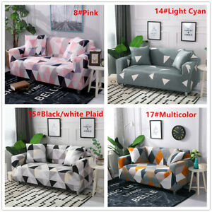 1-4 Seats Design Colour Modern Elastic Stretch Sofa Couch Covers For Living Room
