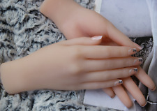 High quality realistic silicone Female hand model jewelry display model 1-pair