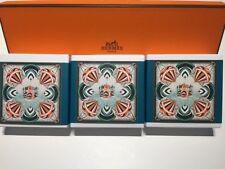 HERMES - Eau de O'range Verte - Perfumed BAR SOAP 3.5 oz / 100g *BRAND NEW Set 3