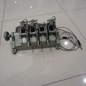 vintage moviola magnasync model syd 4 bank film synchronizer 35mm