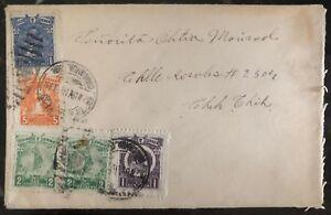 1916 Chihuahua Mexico Revolution cover Domestic Used
